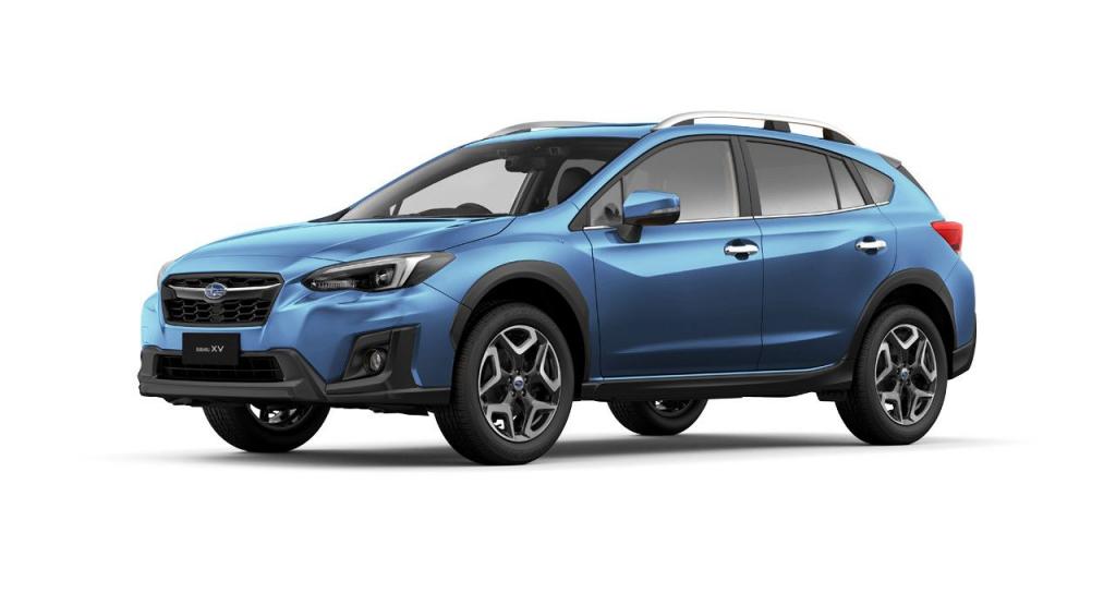 Nya Subaru XV e-Boxer